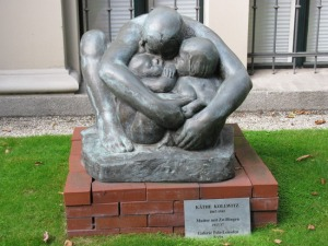Mother with Two Children- Kathe Kollwitz