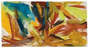 Bullfight- Elaine de Kooning