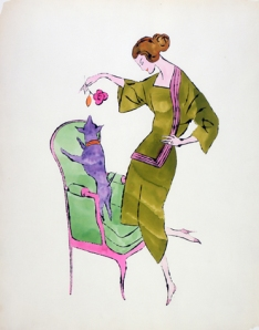 Female Fashion Figure- Andy Warhol