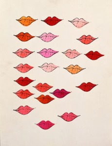 Lips- Andy Warhol