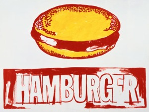 Hamburger- Andy Warhol