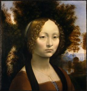 Ginevra de' Benci- Leonardo da Vinci