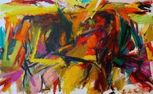 Bullfight La Corrida- Elaine de Kooning