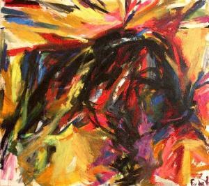Untitled Corrida- Elaine de Kooning