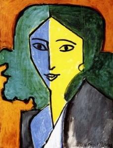 Henri Matisse- Portrait of Lydia