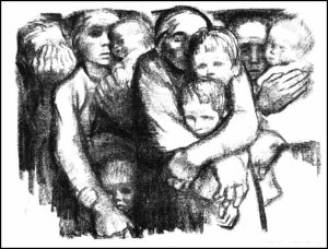 Widows and Orphans- Kathe Kollwitz