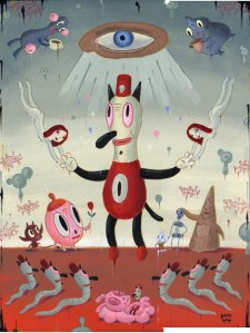 """For the Love of Toby""- Gary Baseman"
