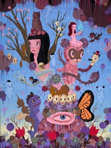 "GARY BASEMAN ""THE EXPLOSION OF DREAM REALITY"""