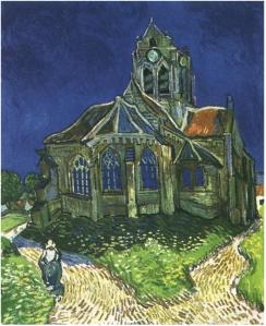 The Church at Auvers- Vincent Van Gogh