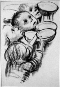 Germany's Children Are Starving- Kathe Kollwitz