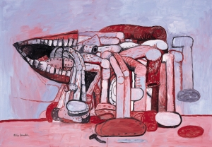 Philip Guston, Painter's Forms II