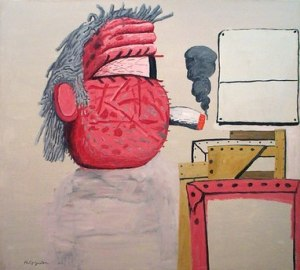 Painter's Head- Philip Guston