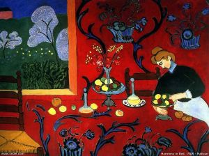 Harmony in Red- Henri Matisse