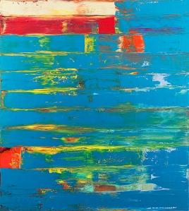 horizonte bloqueado | 2013 | acryl on canvas- Pedro Calapez
