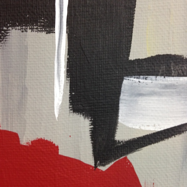 Close-Up 2 Yellow, Red, Blue- Tribute to Esteban Vicente Linda Cleary 2014 Acrylic on Canvas