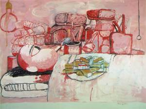 Painting, Smoking, Eating - Philip Guston