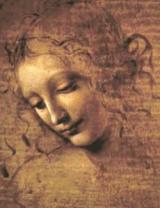 Head of a Woman- Leonardo da Vinci