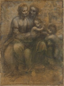 The Virgin and Child with St Anne and St John the Baptist, sometimes called The Burlington House Cartoon, is a drawing by Leonardo da Vinci.