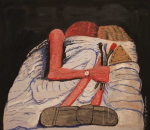 Couple in Bed- Philip Guston