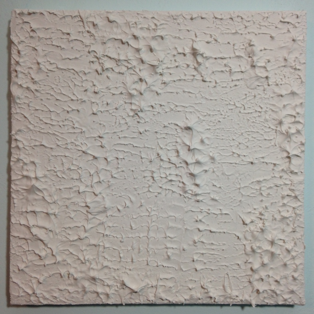 Static- Tribute to Michael Staniak Linda Cleary 2014 Modeling Paste on Canvas