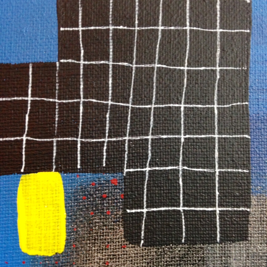 Close-Up 1 Sonata- Tribute to Robert Natkin Linda Cleary 2014 Acrylic on Canvas
