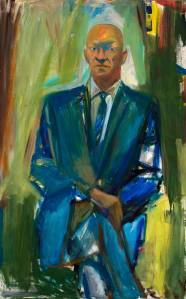 Portrait of Jack Greenbaum- Elaine de Kooning