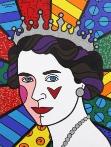 Queen Elizabeth II- Robero Britto
