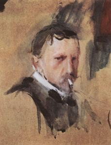 Self-Portrait- Valentin Serov