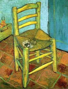 Van Gogh's Chair- Vincent Van Gogh