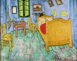 Bedroom in Arles, 1888, Van Gogh Museum