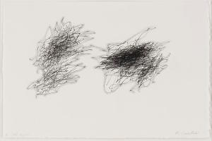 Untitled (July 25, 2010 Laporte), 2010 Ink & graphite on paper- William Anastasi