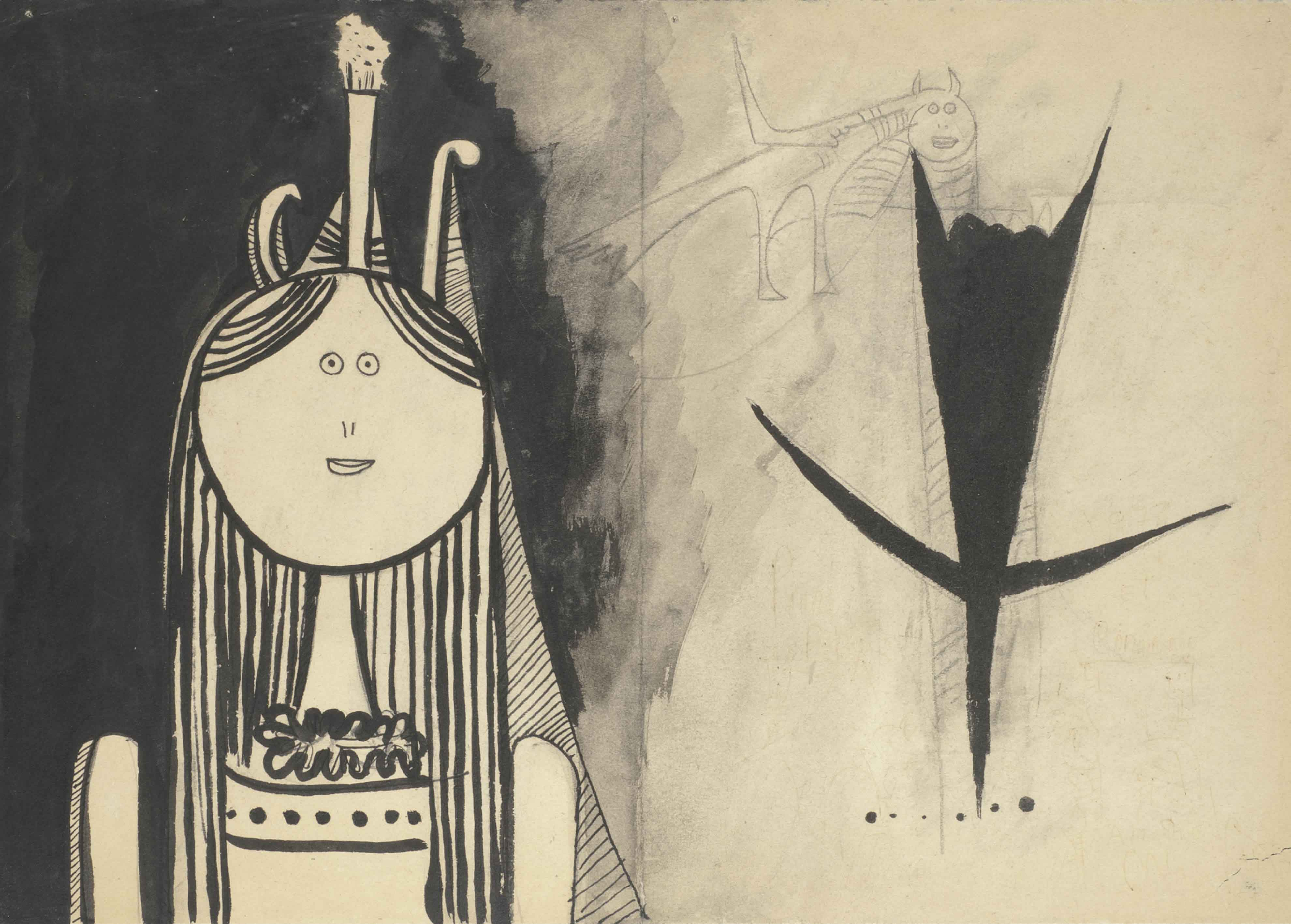Day 302- Wifredo Lam- Hallucinating Figures – Day of the ...