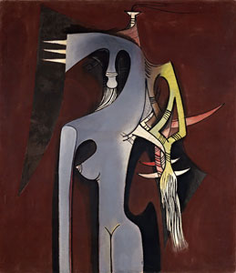 Wifredo Lam, Zambezia, Zambezia, oil on canvas, 1950