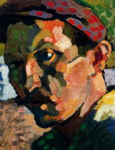 Self Portrait in Red Cap- André Derain