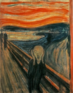 The Scream- Edvard Munch