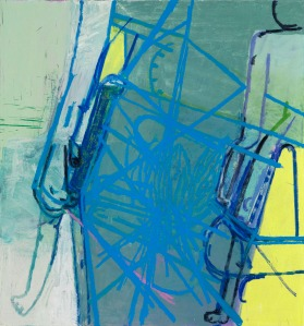 Amy Sillman, Blue Diagram, 2009
