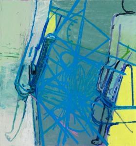 Amy Sillman, Blue Diagram, 2009