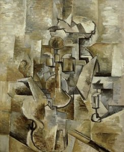 Violin and Candlestick- Georges Braque