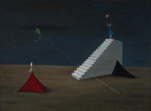 """Between Two Camps"" by Gertrude Abercrombie (1948)"
