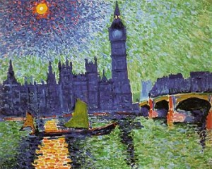 Big Ben London 1906- André Derain