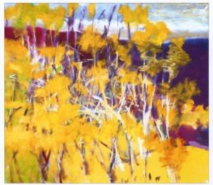 Wolf Kahn Original Oil on Canvas