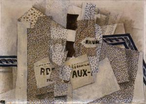 Bottle of Run 1914- Georges Braque