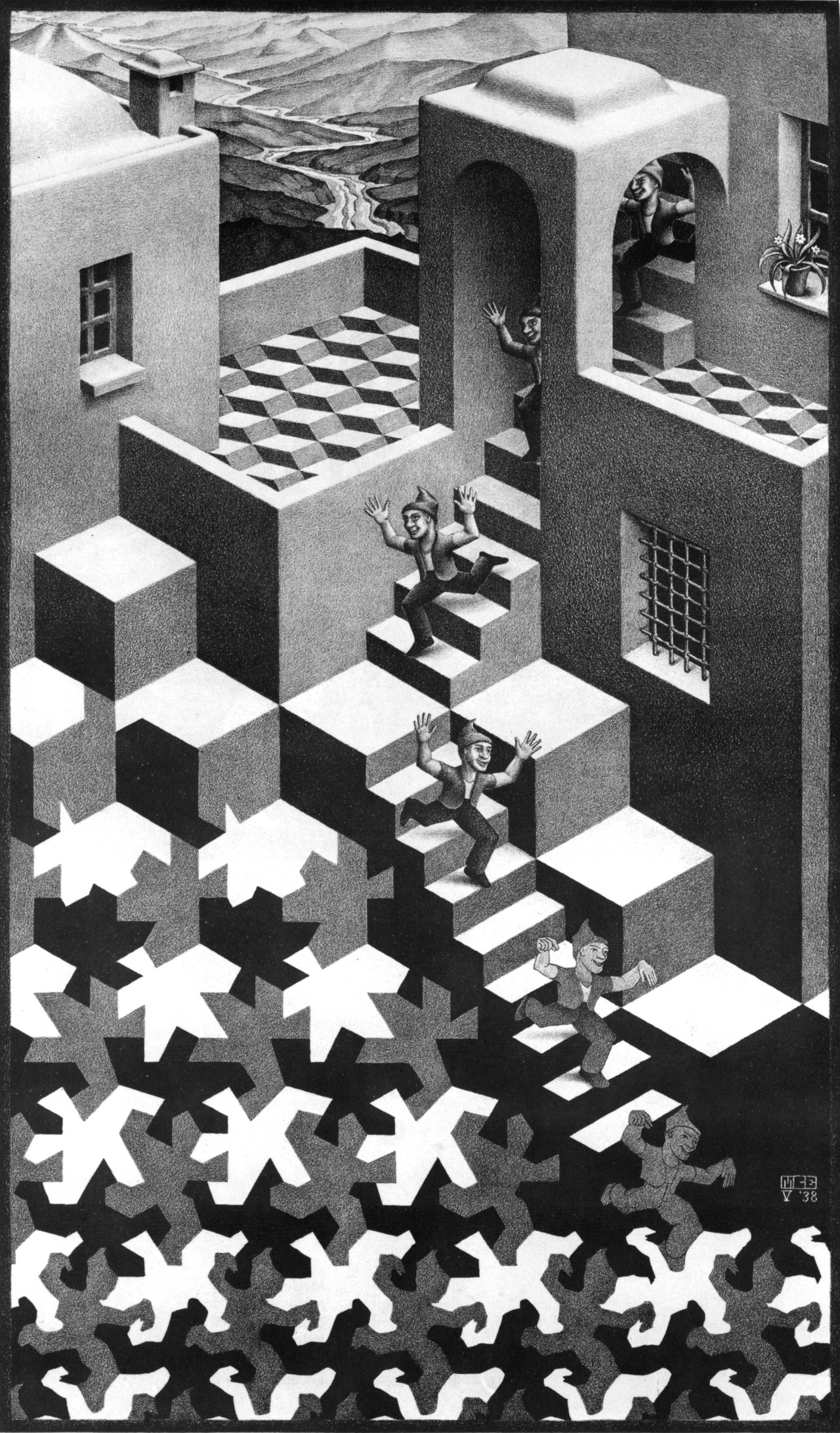 Day 327- M.C. Escher- Absurdly Impossible – Day of the Artist
