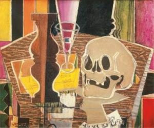 Baluster and Skull- Georges Braque