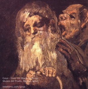 Old Men- Francisco De Goya