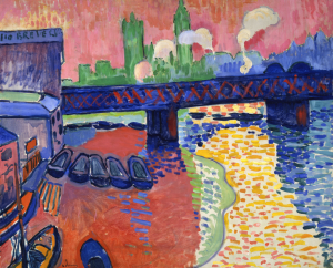 Charing Cross Bridge- André Derain