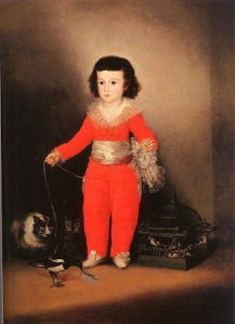Don Manuel Osorio Manrique de Zuniga(oil on canvas)- Francisco De Goya