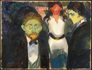 Jealousy- Edvard Munch