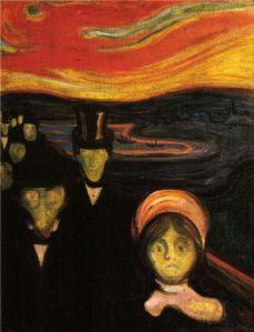 Anxiety- Edvard Munch