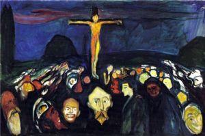 Golgotha- Edvard Munch